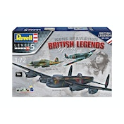 British Legends Gift Set 1:72 Revell Model Set