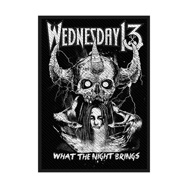 Wednesday 13 - What the Night Brings Standard Patch