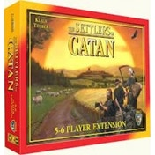 The Settlers of Catan 5-6 Player Extension Board Game