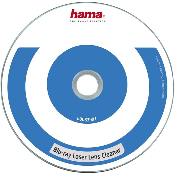 Hama Laser Lens Cleaner for Blu-Ray Disc