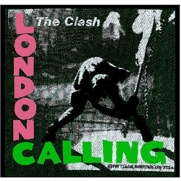 The Clash - London Calling Standard Patch