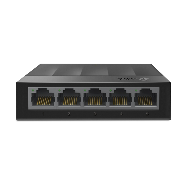 TP-LINK LS1005G network switch Unmanaged Gigabit Ethernet (10/100/1000) Black UK Plug