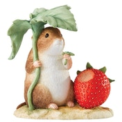 Beatrix Potter Peter Rabbit Timmy Willie with Strawberry Large Figure