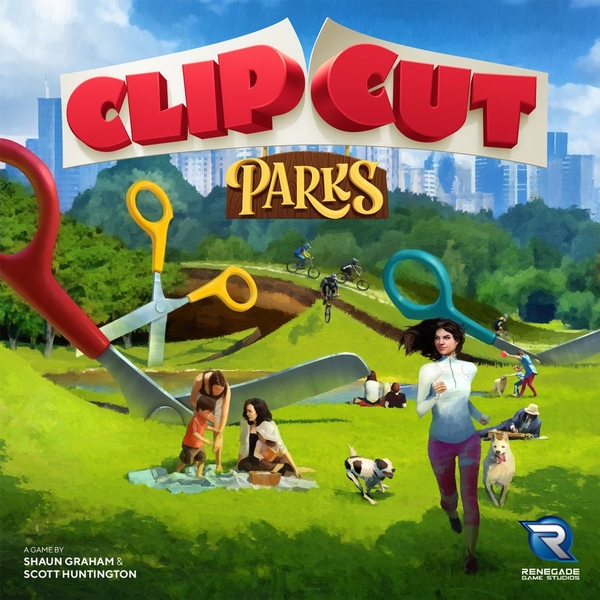 ClipCut Parks Board Game