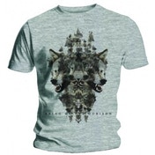 BMTH Wolven Grey Marl T Shirt: Large