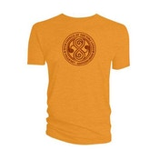 Doctor Who - High Council of the Time Lords Men's XX-Large T-Shirt - Orange