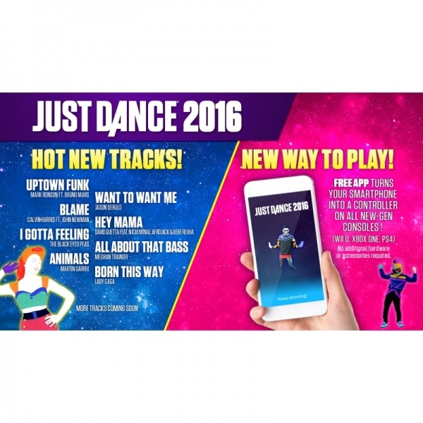Just Dance 2016 Wii U Game - Image 7