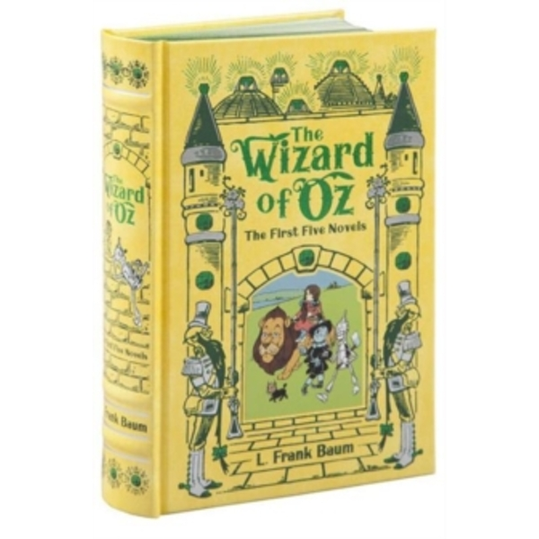 Wizard of Oz (Barnes & Noble Omnibus Leatherbound Classics): The First Five Novels by L. Frank Baum (Hardback, 2015)