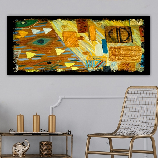 YTY241700161_50120 Multicolor Decorative Canvas Painting