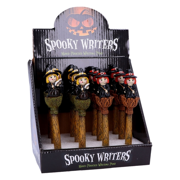 Spooky Writers Witch (Display of 12) Pens