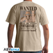 One Piece - Wanted Ace Men's XX-Large T-Shirt - Beige - Image 2