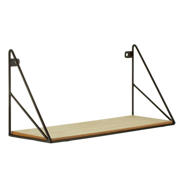 Sass & Belle Black Wire Loft Shelf