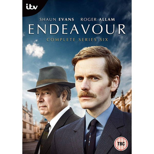 Endeavour Series 6 DVD