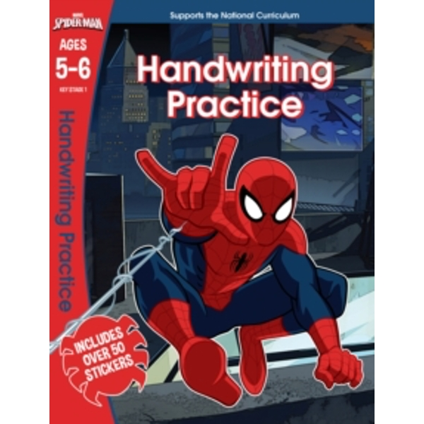 Spider-Man: Handwriting Practice, Ages 5-6
