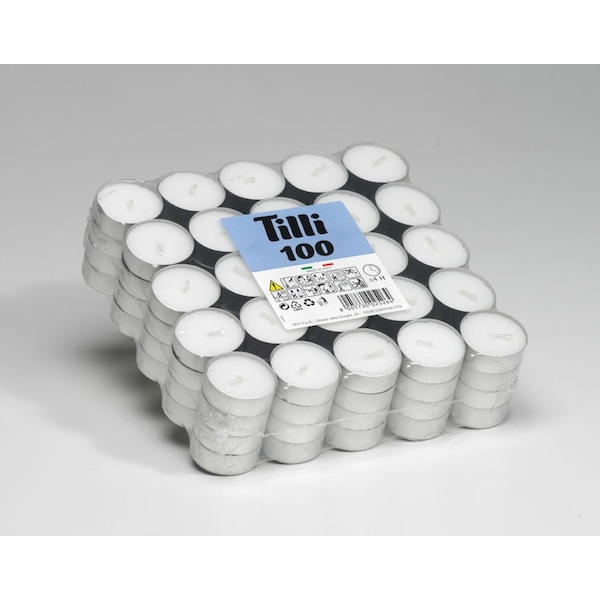 Price's Candles Tealights Pack 100 Tilli