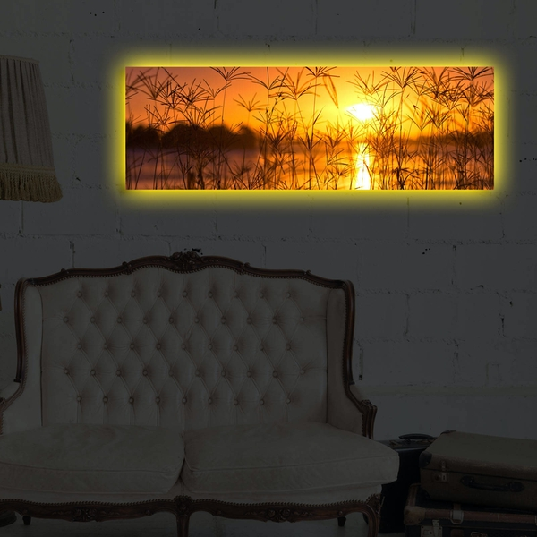 3090DACT-36 Multicolor Decorative Led Lighted Canvas Painting