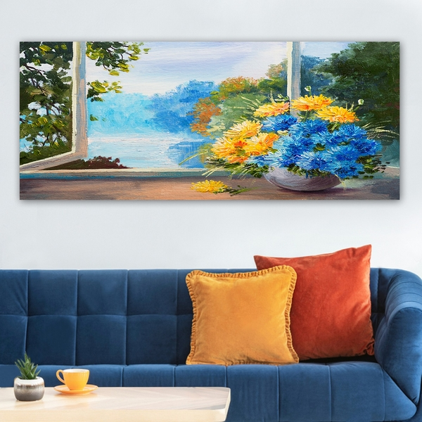 YTY266361548_50120 Multicolor Decorative Canvas Painting