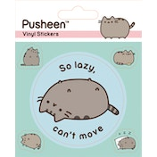 Pusheen - Lazy Vinyl Sticker