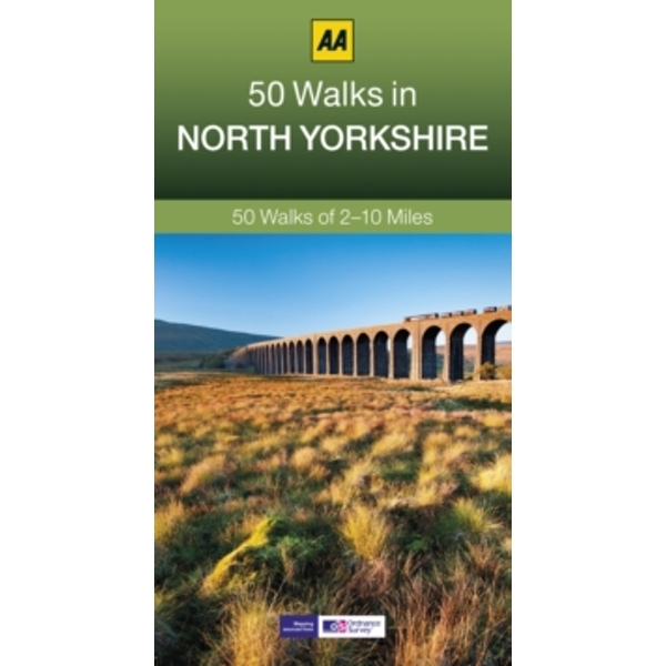 50 Walks in North Yorkshire by AA Publishing (Paperback, 2014)
