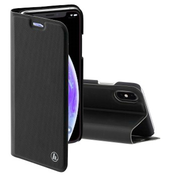 Hama Slim Pro Wallet Case for Apple iPhone X/Xs Black