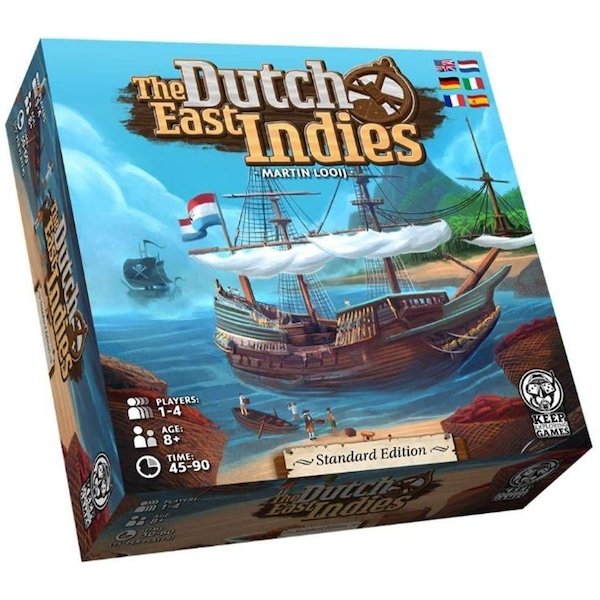 The Dutch East Indies Board Game Standard Edition