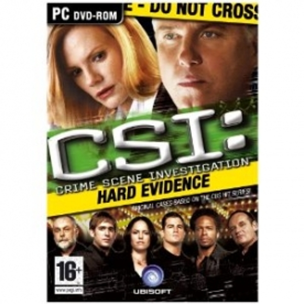 CSI Crime Scene Investigation Hard Evidence Game PC