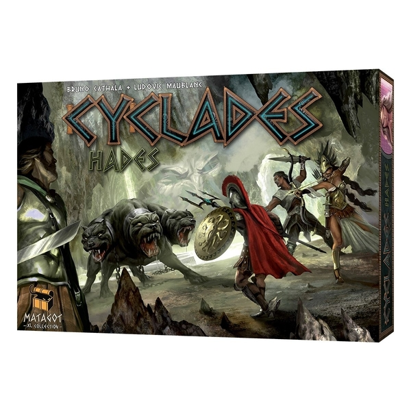 Cyclades Hades Expansion Board Game