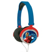 Lexibook HP010AV Avengers Foldable Stereo Headphones with Volume Limiter