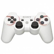 Official Sony DualShock 3 Controller Baseball White MLB The Show Edition PS3