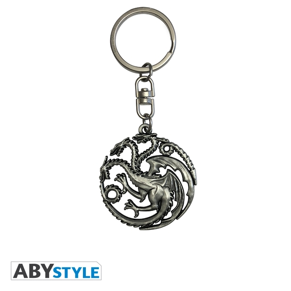 Game Of Thrones - Targaryen 3D Keychain - Image 1