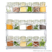 3 Tier Herb & Spice Rack | M&W Chrome  - Image 4