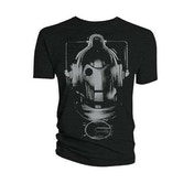 Doctor Who - Cyberman Head Men's X-Large T-Shirt - Grey