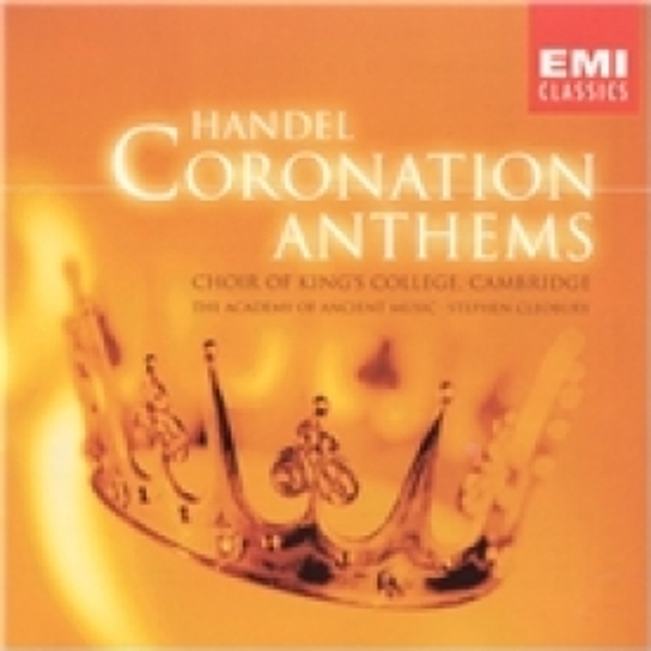 Handel Coronation Anthems CD