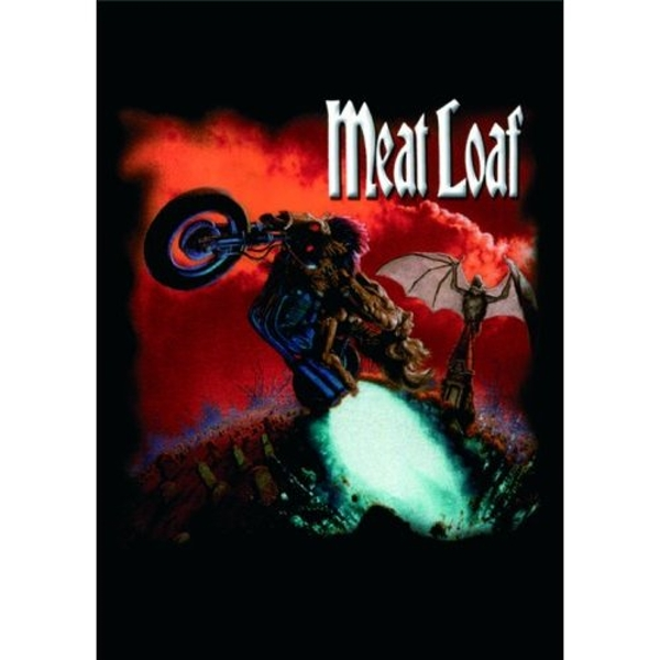 Meat Loaf - Bat Out Of Hell Postcard