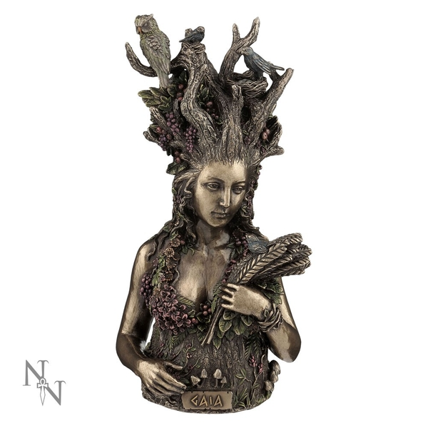 Gaia Mythology Bust