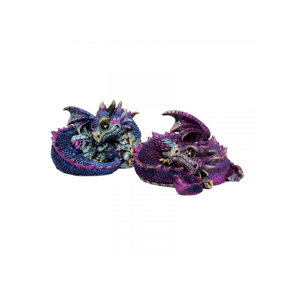 Hatchlings Mischief Dragon Two Statues