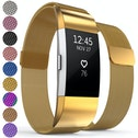 Proworks FitBit Charge 2 Milanese Metal Strap - Gold