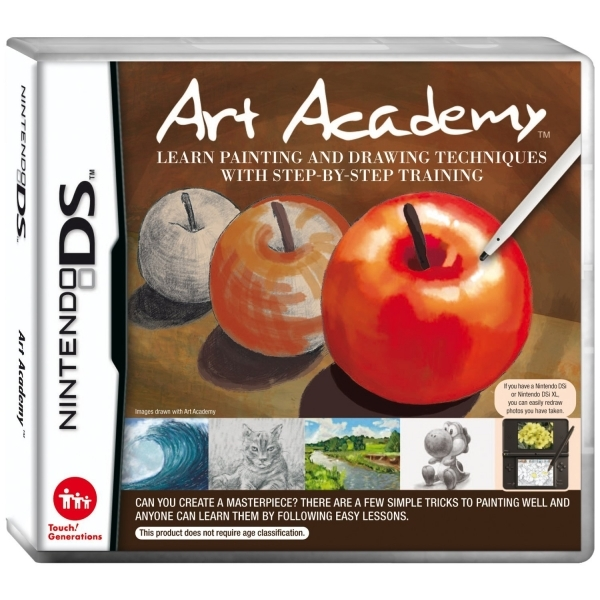 drawing game pc Art Academy Learn Painting And Drawing Game DS