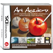 Art Academy Learn Painting and Drawing Game DS