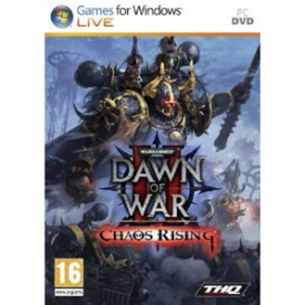 Warhammer 40000 Dawn Of War II 2 Chaos Rising Game PC