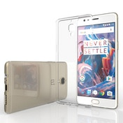 YouSave Accessories OnePlus Three Ultra Thin Gel Case - Clear