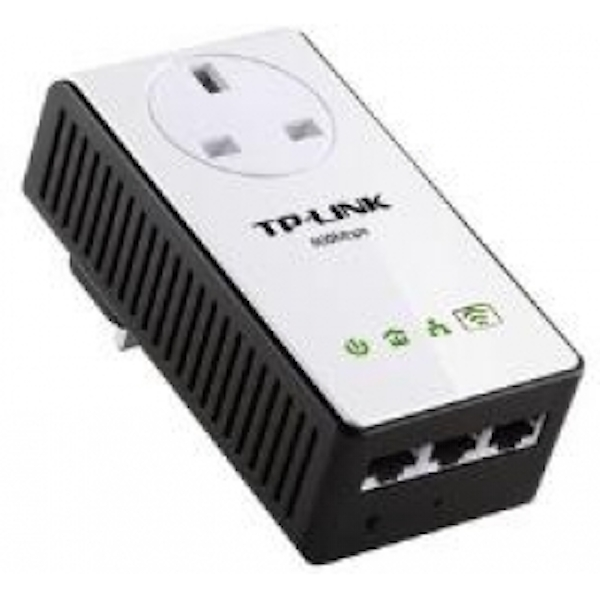 TP-LINK AV500 TL-WPA4230P 300Mbps Passthrough Powerline WiFi