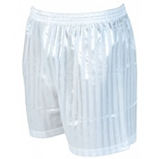 Precision Striped Continental Football Shorts 22-24 inch White