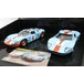 Ford GT40 1969 Gulf Twin Pack 1:32 Scalextric Car - Image 2
