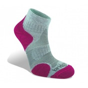 Bridgedale Coolfusion Multisport Women's Sock Grey and Raspberry Medium