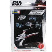 X-Wing Fighter Star Wars 1:112 Scale Easy Click Revell Model Kit Bag