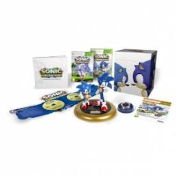 Sonic Generations Collector's Edition Game Xbox 360