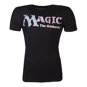 Hasbro - Magic: The Gathering Logo Men's Large T-Shirt - Black