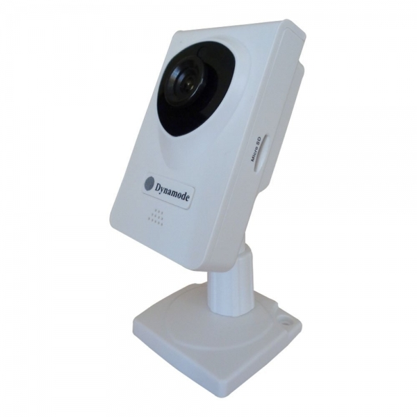 DYNAMODE Wireless Colour IP Camera with Zoom White