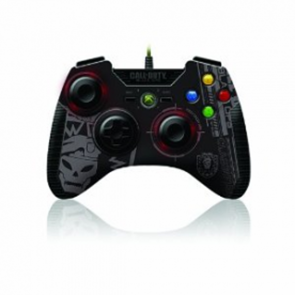 Call of Duty Black OPS Wired Precision Aim Controller Xbox 360